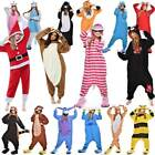 USA! Unisex Adult Kids Kigurumi Pajamas 1onesie Cosplay Costume Animal Sleepwear