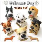 Welcome Dogs Ornament/Front Door,Yard,Entrance/Pet Shop/Dog Cafe/Garden/Sign/New