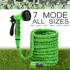 50 75 100 150 Feet Expandable Flexible Garden Water Hose Spray Nozzle Gun US RF