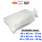 WOVEN LARGE HEAVY DUTY RUBBLE SAND BAG SACKS CHOICE OF QTY POLYPROPYLENE FAST