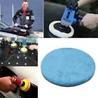 Buffing Self-Adhesive Waxing Sanding Polishing Wool Sponge Disc for Vehicle Y