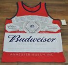 Budweiser Beer Tank Top Mens Officially Licensed Anheuser-Busch T-Shirt Tee image