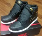 Air Jordan 1 Retro High OG Black Metallic Gold White SKU 555088 031