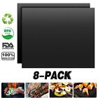 NEW Outdoor Home BBQ Grill Mat - As Seen On TV-Make Grilling Easy 2 -10Mats/Pack