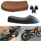Vintage Cafe Racer Flat&Hump Saddle Seats For Triumph Bonneville Honda CB650 450 $39.66 USD on eBay