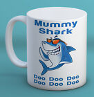 Baby Shark Doo Doo Mummy Daddy Family Mug Cute Funny Gift Custom personalised