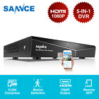 SANNCE 1080N 5in1 Onvif 4CH CCTV DVR for Security Camera System 0-2TB APP Remote