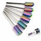 """Pro 3/32"""" Carbide Nail Drill Bits For Acrylic Nails Bit Cuticle Cleaner Manicure"""