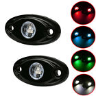 2x 2inch LED Rock Light for JEEP ATV SUV Off-Road Truck Car Underbody Trail Van