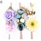 3Pcs Baby Girl Boho Artificial Flower Headband Newborn Hair Accessories USA