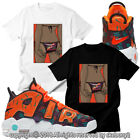 CUSTOM TEE matching T SHIRT Air More Uptempo What The 90s UTP 1-33-10 image