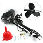 2 Stroke 3.5HP Outboard Motor Boat Engine w/ Water or Air Cooling System 10 km/h
