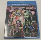 Monster High:Freaky Fusion (Blu-ray/DVD, 2-Disc Set) [H22-04]