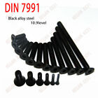 M3 M4 M5 M6 Hex Socket Countersunk Head Screws Hex Bolt 12.9 Black Alloy Steel