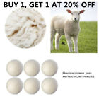 20*Laundry Dryer Balls Natural Wool Reusable Fabric Softener Drying Clothes Ball