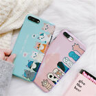 New Cartoon Cut Paw Glossy Soft Back Case For Samsung Galaxy S 8 9 Note 8 Huawei