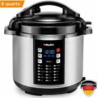 Mueller 10-in-1 Pro Series 18 Program 6Q Pressure Cooker with German ThermaV