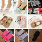 1Pair Women Cute Boat Loafer Cotton Invisible Low Cut No Show Hidden Short Socks