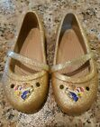 Crocs Girls/Toddler Lina Beauty Andthe Beast Flat- size 9