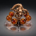 Hot 7pcs Dragon Balls With Gold Stand Crystal Anime Z Home Decor Halloween Gift