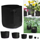 10 Pack Fabric Grow Pots Breathable Plant Bags 1,2,3,5,7,10 Gallon Smart