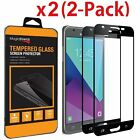 2X Full cover Tempered Glass Screen Protector Samsung Galaxy J3 V/Achieve 2018