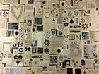 Внешний вид - Stampin Up Rubber Stamps Wood Mount 1997 to 2006 Single Stamps U PICK