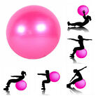 Women Yoga Exercise Ball Air Pump Anti-Burst Gym Pilates Balance Fitness Train image
