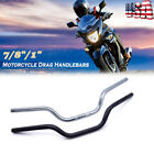 "Universal 7/8"" 1"" Motorcycle Handlebars Drag Bar For Harley Honda Yamaha $16.99 USD on eBay"