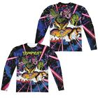 Atari Tempest Key Art Arcade Game Allover 2 Side Sublimation Long Sleeve T-shirt