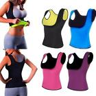 Women Weight Loss Waist Trainer Fat Burner Body Shaper Sauna Sweat Vest T