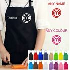 MASTERCHEF APRON WITH POCKET PERSONALISED NAME NOVELTY MASTER CHEF TV COOKING