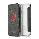Guess PU Leather Book Style iPhone SE (2020) iPhone 8, iPhone 7 Wallet Case Gray