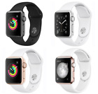 Apple Watch 1st Gen 42mm Aluminum Case - Space Gray Silver Gold Rose Sport Band