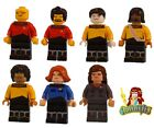 Custom LEGO minifigure Choice Star Trek The Next Generation Crew Machine Print on eBay