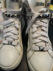 Micheal Kors white High Top Sneakers Leather Size 10
