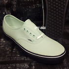 VANS AUTHENTIC BLACK OUTSOLE MINT GREEN MEN'S SKATE SHOES/S89138.238