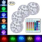 Remote Control Colorful LED Light Boundary Style Waterproof Halloween Party X4