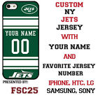 New York Jets Phone Case Cover for iPhone X 8 PLUS iPhone 7 6 5 ipod 6 etc.