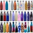 0.35L-1L Water Bottle Vacuum Insulated Double Wall Thermos Stainless Sports Cup