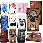 For iPhone Xs Max/XR Cute Pattern Leather Wallet Stand Card Slot Flip Case Cover