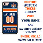 Auburn Tigers Football Jersey Personalized Phone Case for iPhone Samsung LG etc.