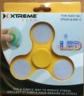 XTREME TECH LED Fidget Spinner - yellow and white
