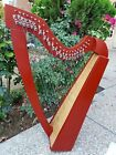 new 22 String Celtic Harp Lever Harp Iris Harp With Deluxe Bag and Tunning Key