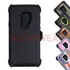 For Samsung Galaxy S9/S9 Plus Case Shockproof Hybrid Hard Rugged Rubber TPU