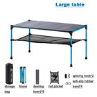 Outdoor Aluminum alloy Folding Table Collapsible Splicing Table for BBQ Camping