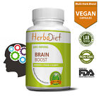 Nootropics Brain Booster Supplement for Focus Memory Energy - Bacopa Ginkgo DMAE