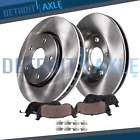 Front Brake Rotors & Ceramic Pads for 2011 2012 2013 2014 2015 2016 2017 Quest