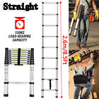 Telescopic loft ladder extendable collapsible step ladders securing bolt 3.2M 5M