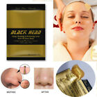 10Pcs Gold Deep Cleansing Purifying Blackhead Pore Removal Peel-off Facial Mask